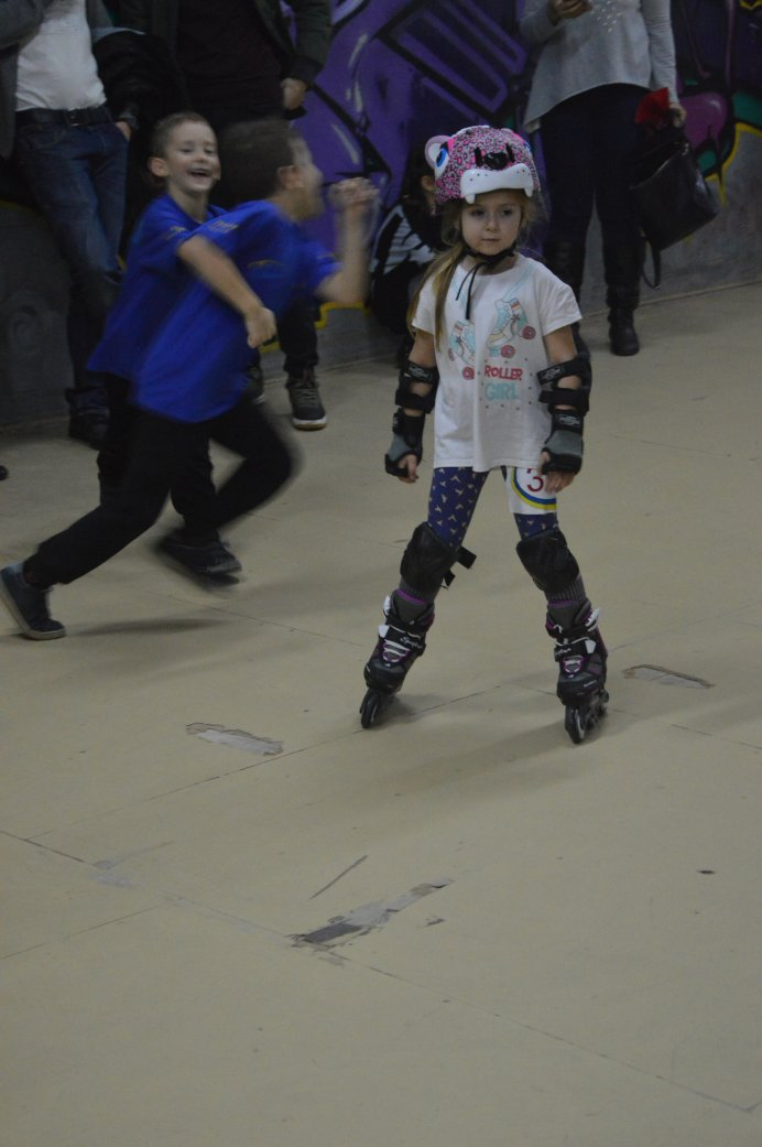 Зимовий Кубок SAM Roller Club зі швидкісного бігу на роликових ковзана. Фото