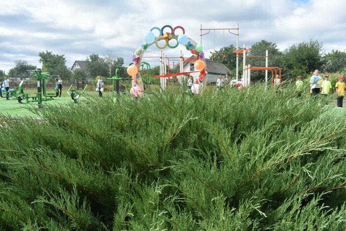 Відкриття спортивних майданчиків, Березань, Студеники. Фото