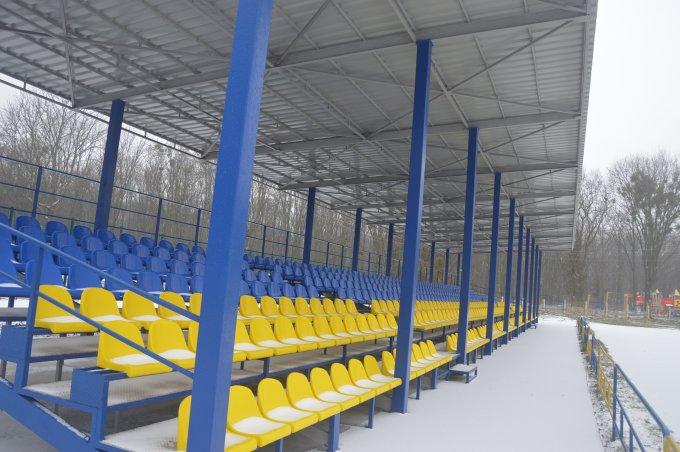 """Стадіон \""""Колос\"""", Яготин. Фото"""