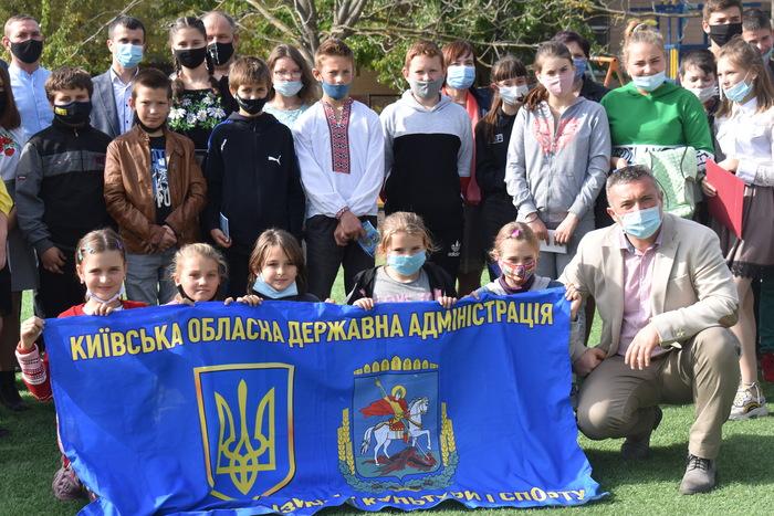 Відкриття воркаут-майданчика в Жоравці. Фото