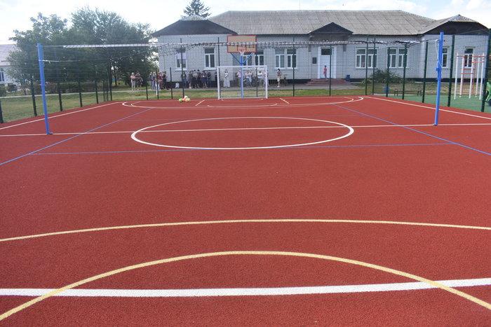 Вікдкриття спортивних майданчиків в Броварському районі. Фото