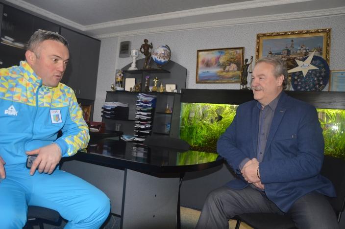 Сергій Тимофєєв, Володимир Балясников. Фото