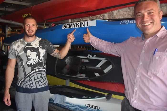 Човен-двійка та гоночні байдарки-одиночки придбано для Київщини. Фото