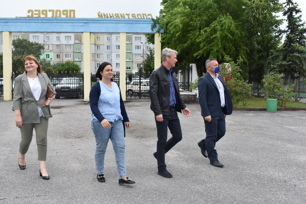Мультифункціональний майданчик, Баришівка. Фото