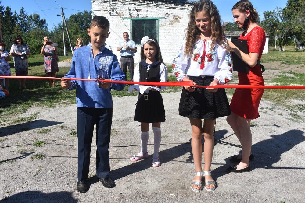 Відкриття воркаут-майданчиків у Фастівському районі. Фото