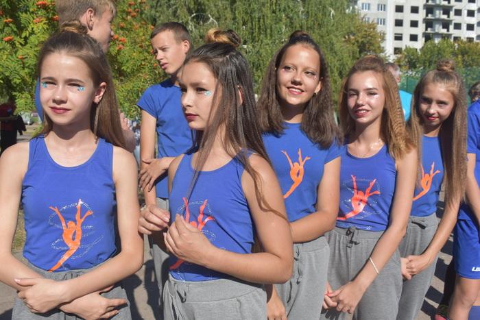 Відкриття мультифункціонального майданчика в Борисполі. Фото