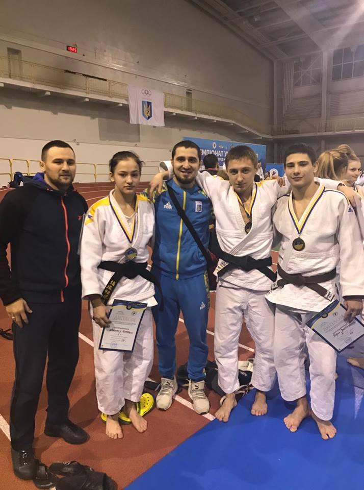 чемпіонату України з дзюдо