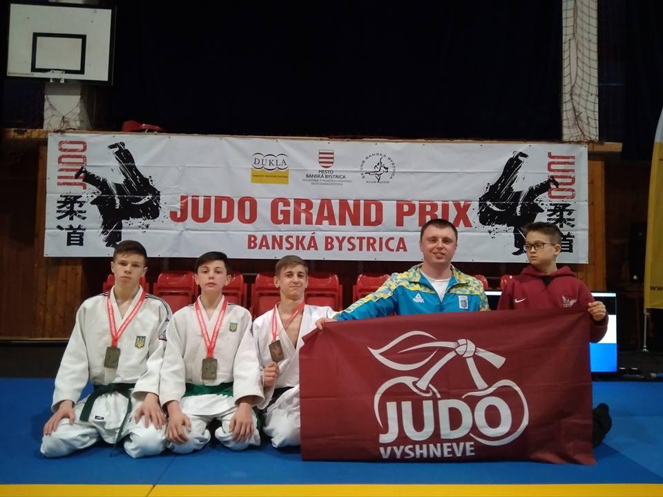 Турнір з дзюдо, Словаччина. Фото