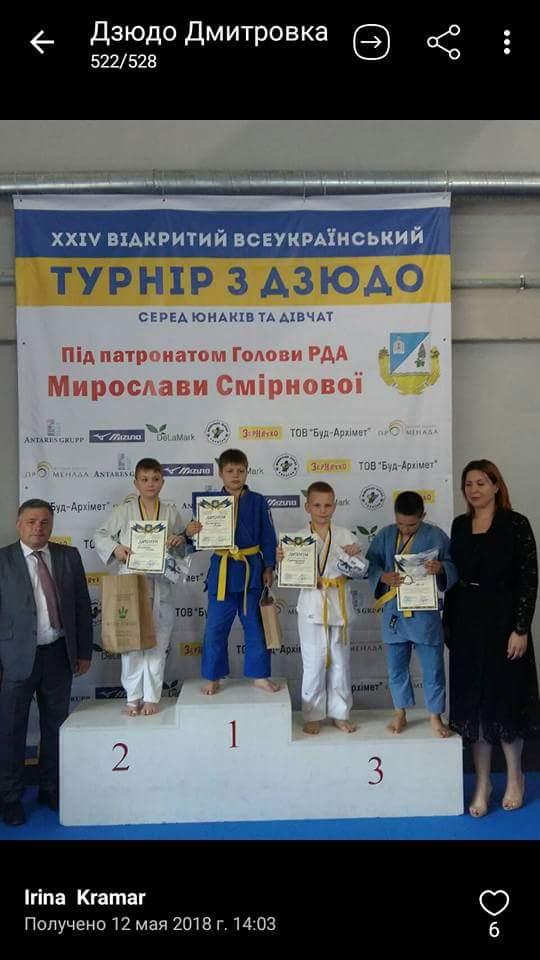 Турнір з дзюдо, Вишневе. Фото
