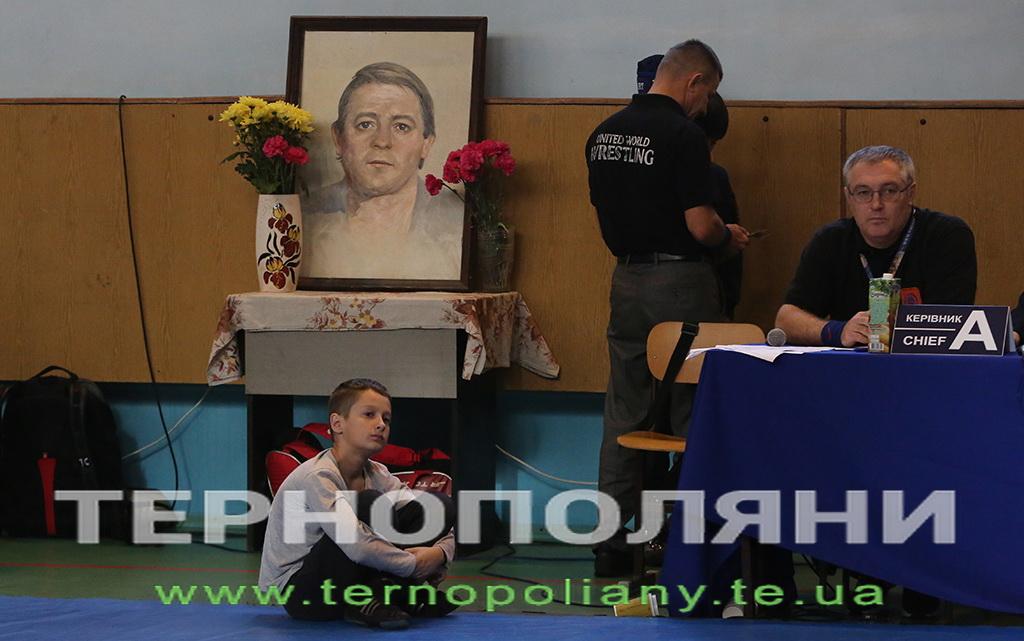 Меморіал Сцібайла з вільної боротьби, Тернопіль. Фото