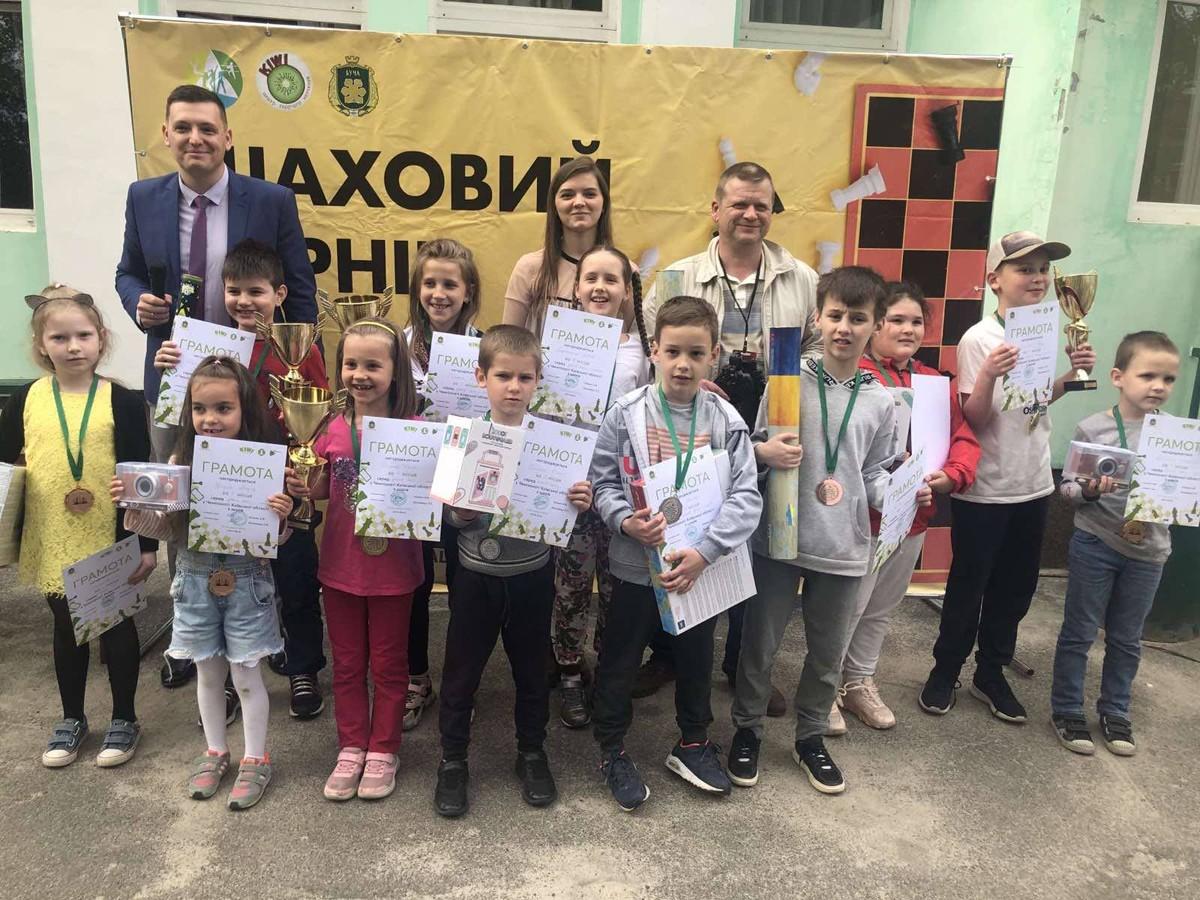 чемпіонат Київської області з шахів серед дітей, Буча. фото