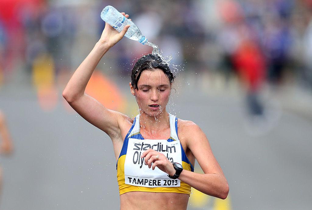 Оляновская йде за сріблом молодіжного чемпіонату Європи-2013. фото