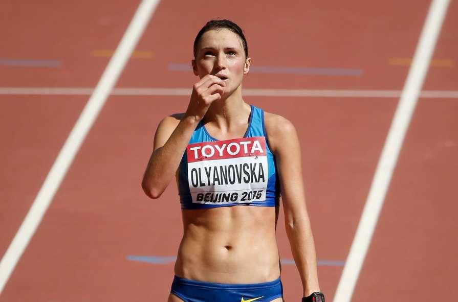 Людмила Оляновская після бронзи чемпіонату світу-2015 / Фото