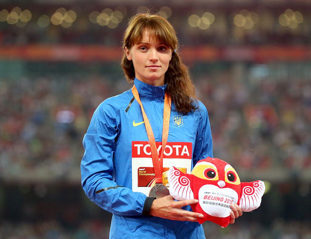 Людмила Оляновская з бронзою чемпіонату світу-2015. фото