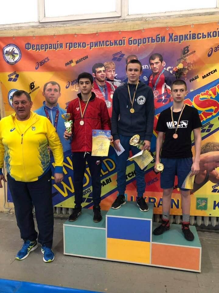 Всеукраїнський турнір з греко-римської боротьби. фото