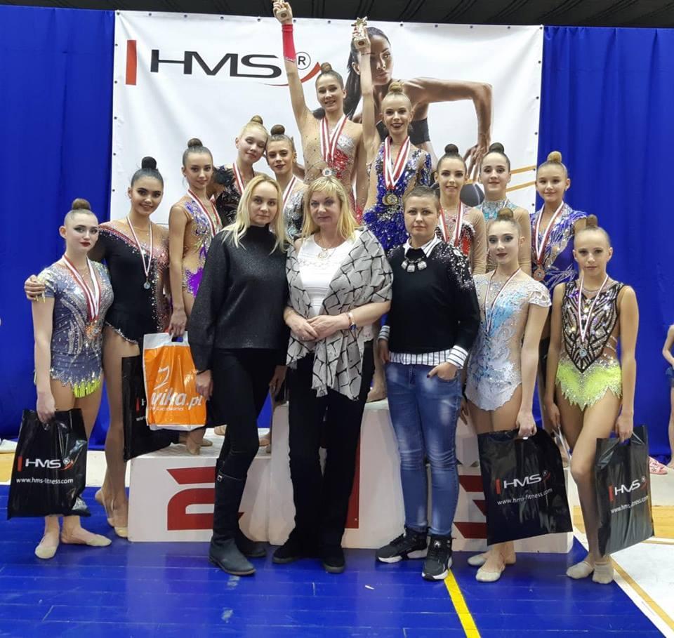 Турнір з художньої гімнастики ІІ SOSNOWIEC WINTER CUP 2019. фото