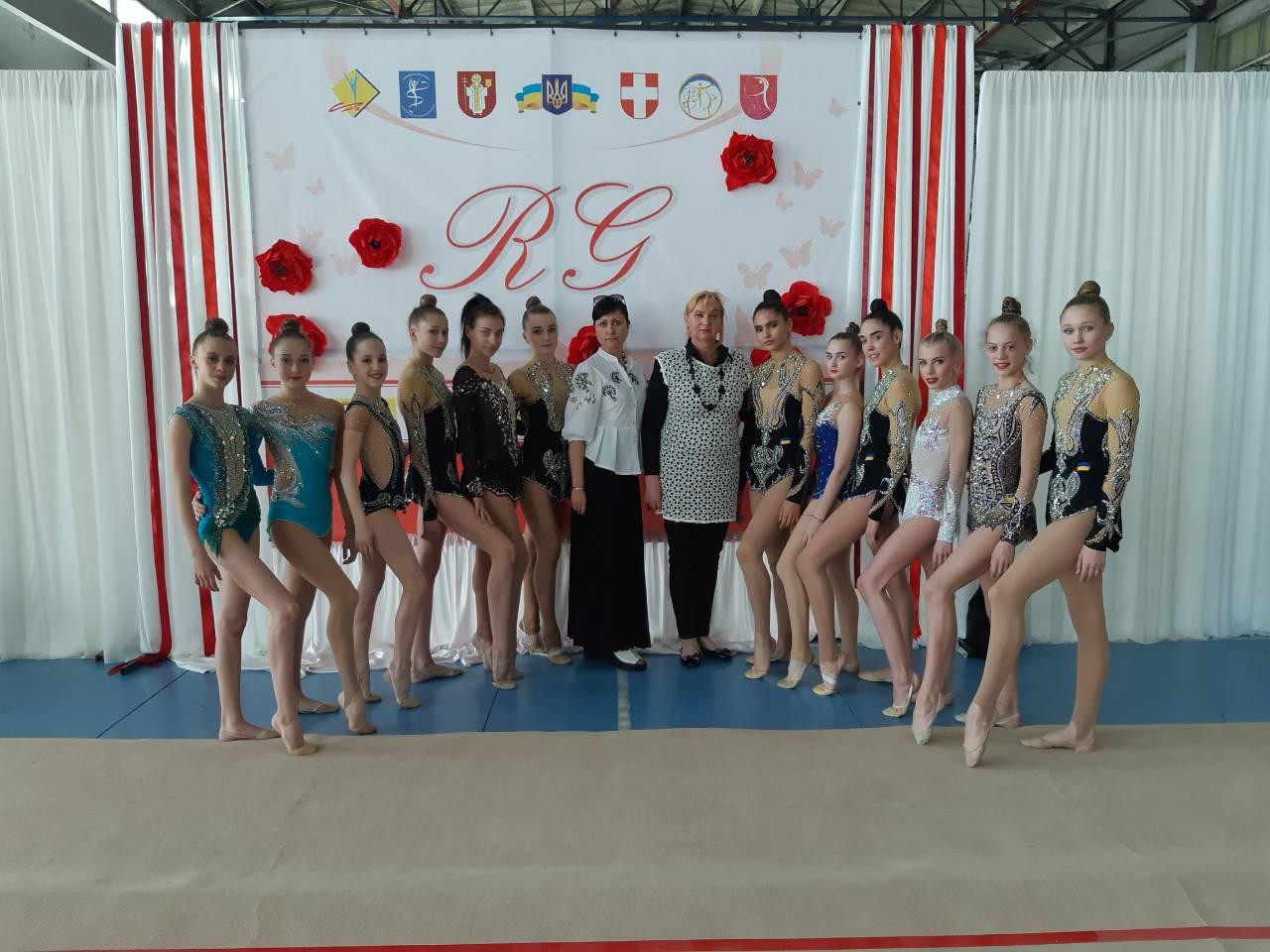 Чемпіонат України з художньої гімнастики, Луцьк. Фото
