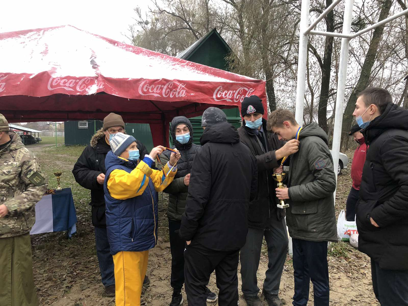 Перший різдвяний турнір з регбі, Київ. Фото