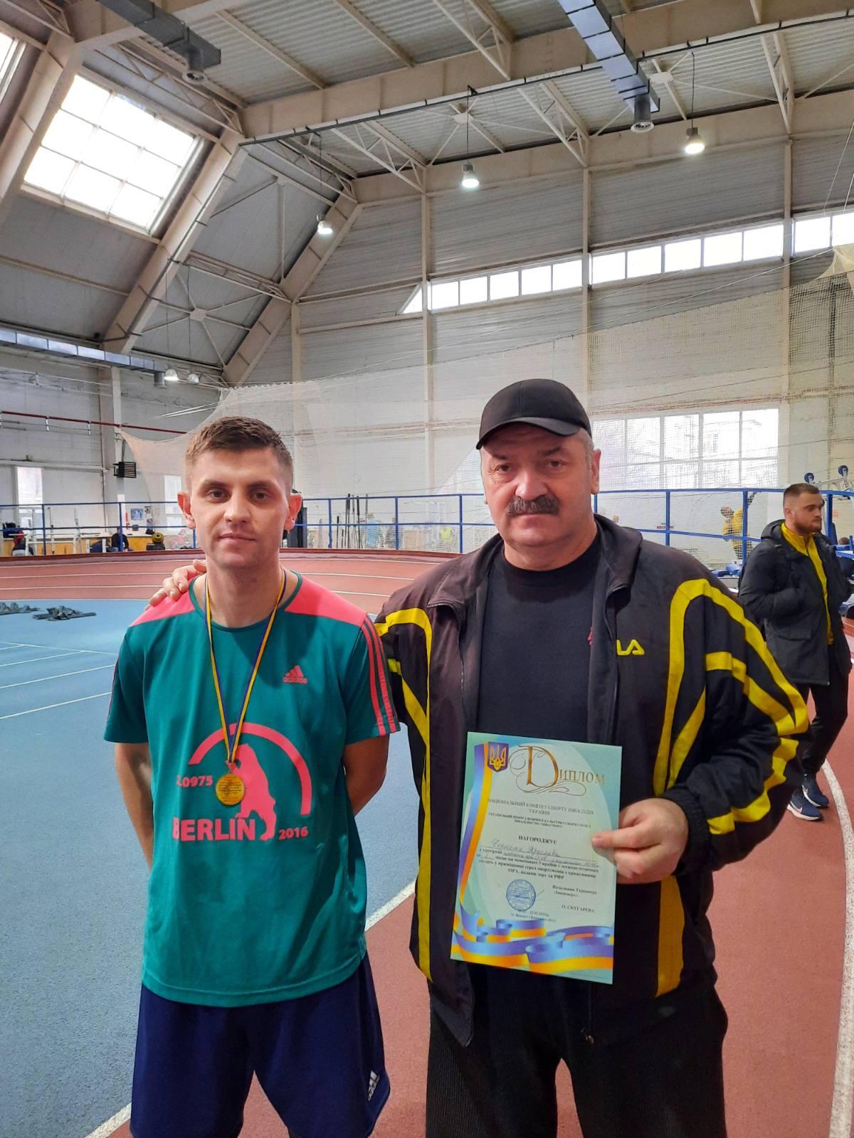 чемпіонат України з легкоатлетичних метань серед паралімпійців. фото