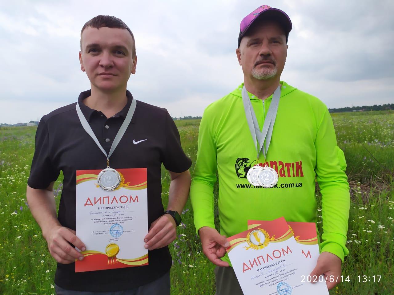 чемпіонат Київської області з риболовлі фідером. фото