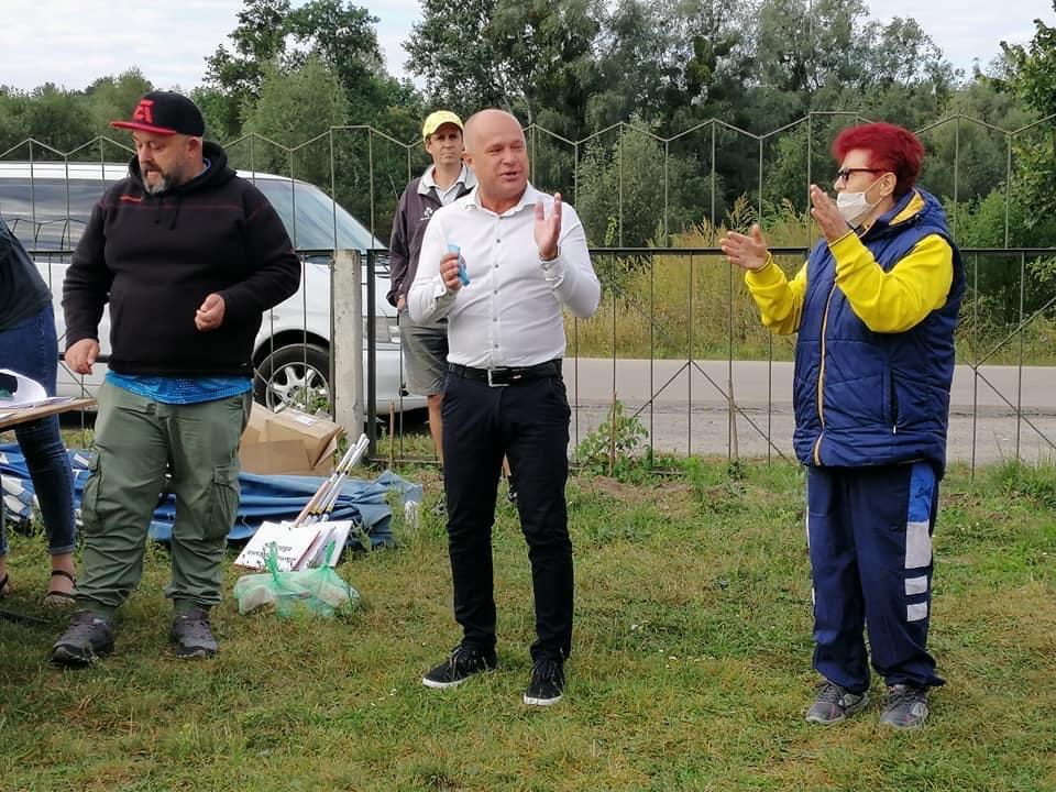 Чемпіонат України з риболовного спорту, с. Гвоздів. Фото