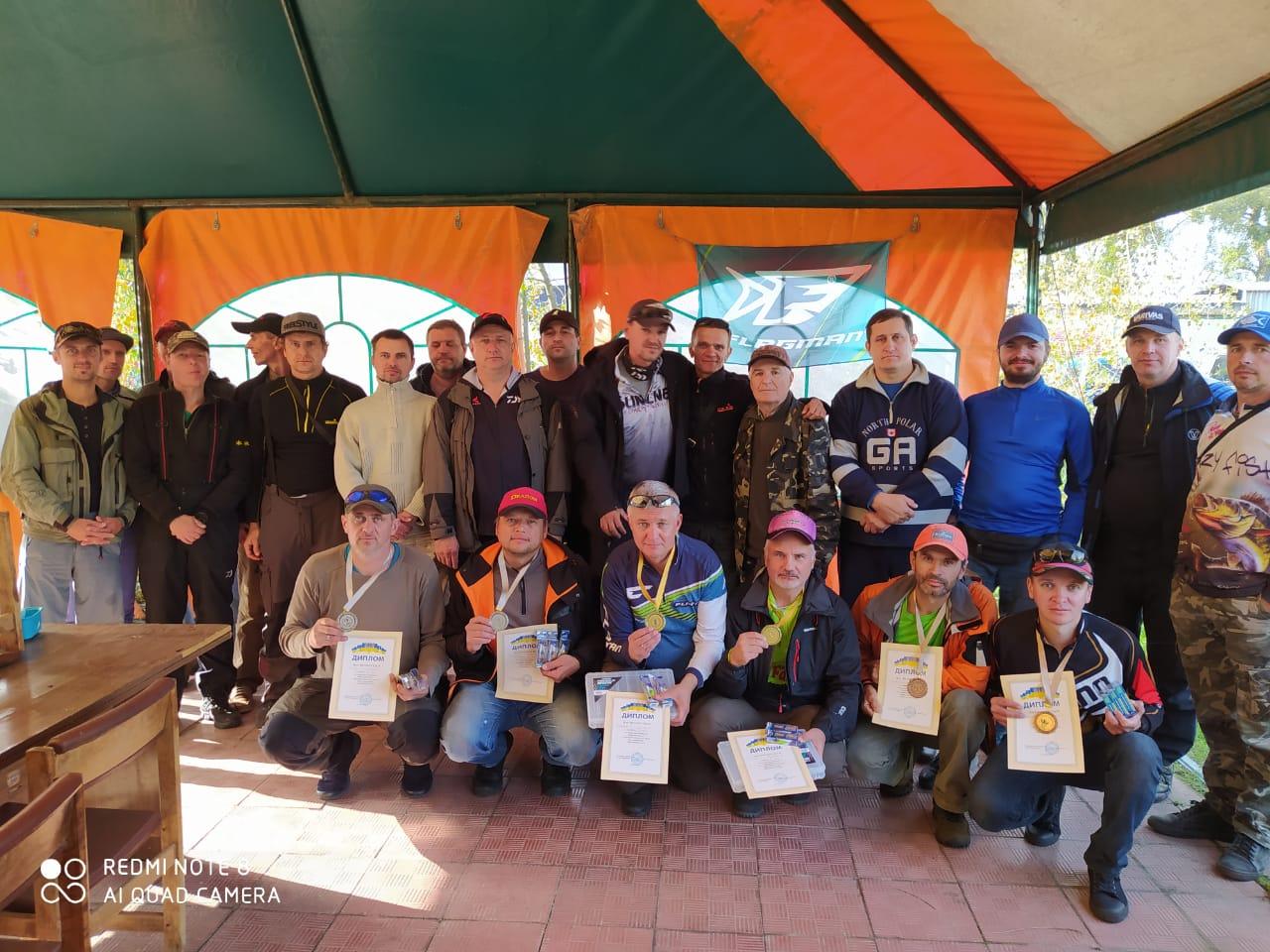Кубок Київщини з риболовного спорту. Фото