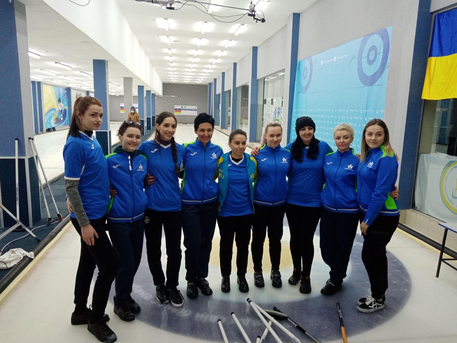 чемпіонат України з керлінгу серед спортсменів з порушеннями слуху. фото