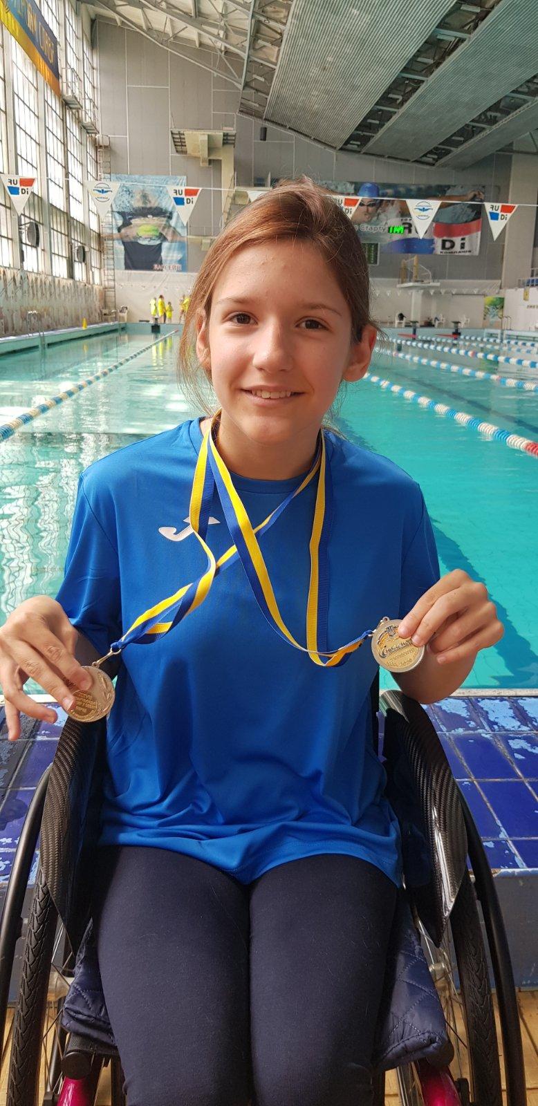 Всеукраїнська спартакіада «Повір у себе» з плавання, Камянське. фото