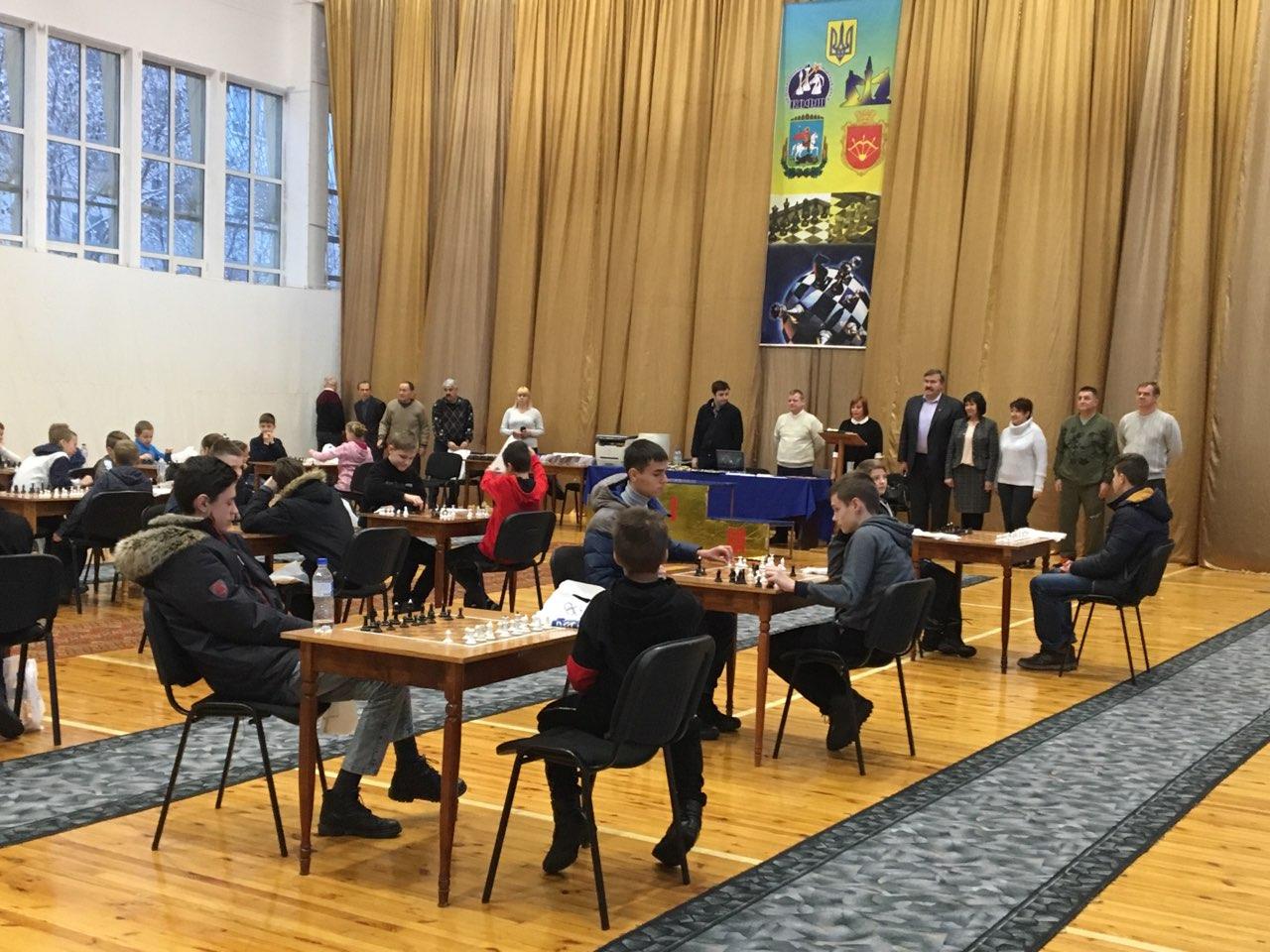 Всеукраїнський шахововий турнір пам'яті Подольського. Фото