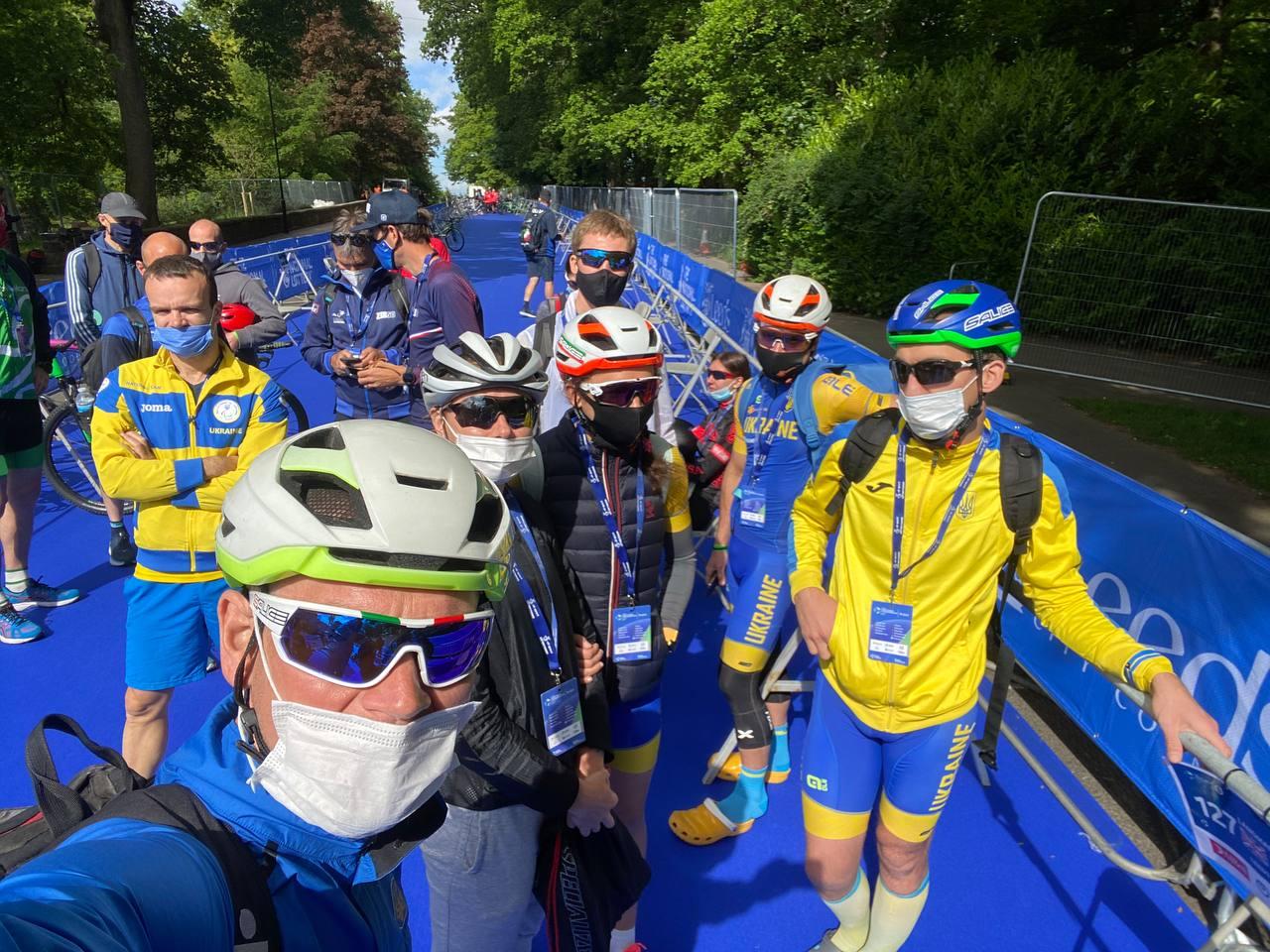чемпіонат світу - серія з паратріатлону, Великобританія. фото