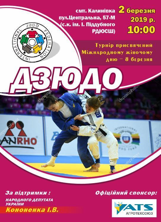 Турнір з дзюдо, Калинівка. Афіша