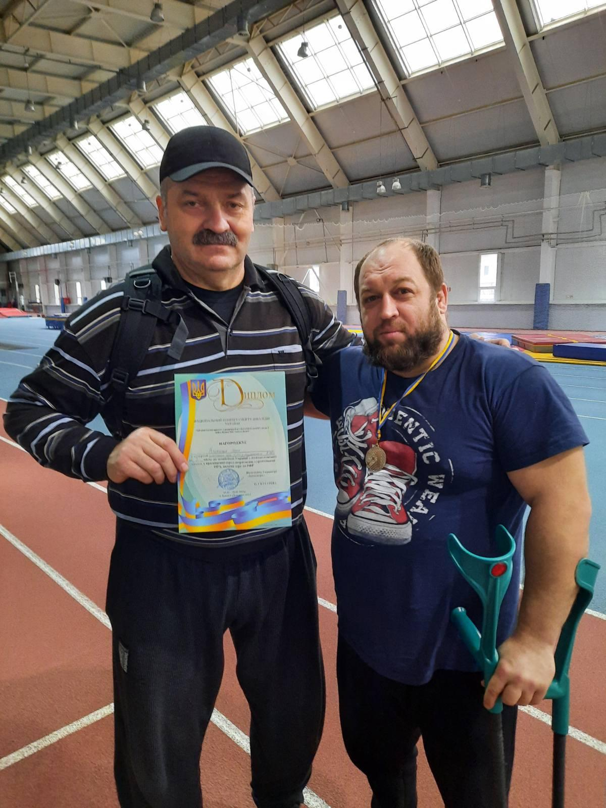 Чемпіонат України з легкоатлетичних метань серед спортсменів з порушенням зору. фото