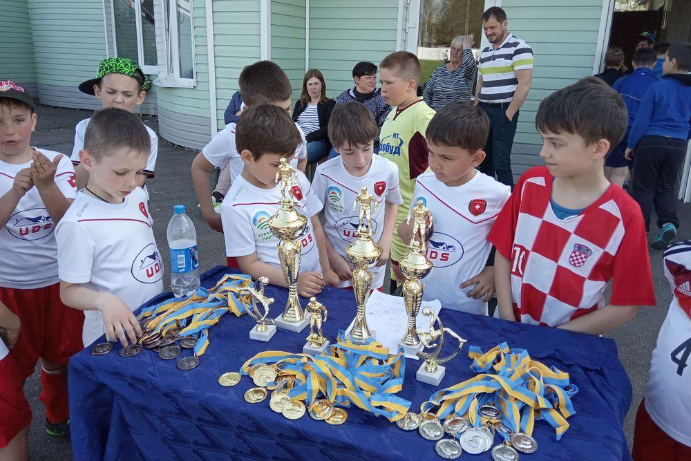 Відкритий турніру з футболу, Терезине. Фото