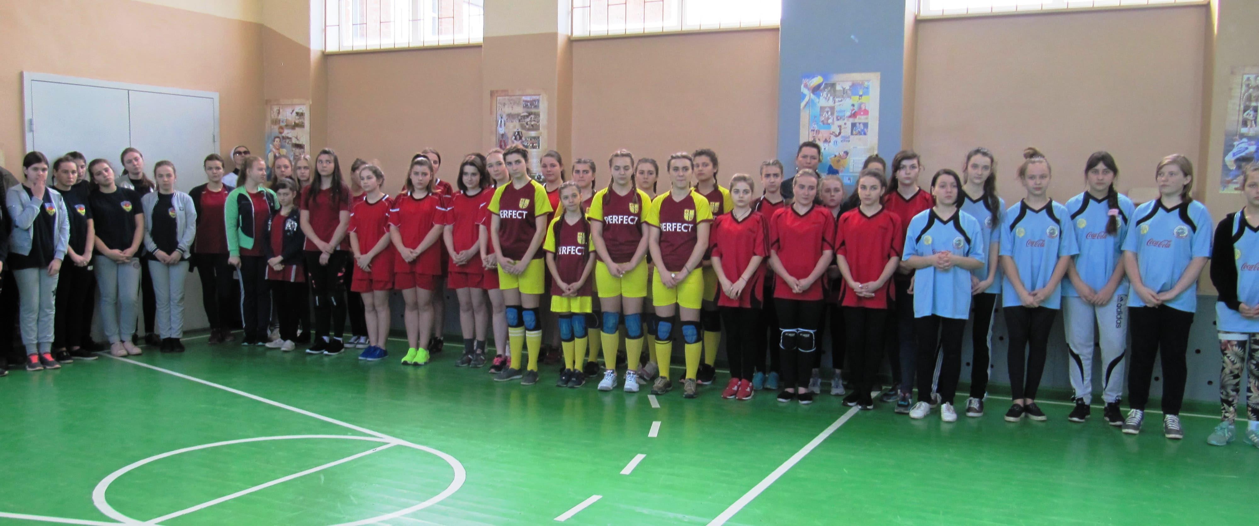 Шкільна волейбольна ліга України: перший етап. Фото