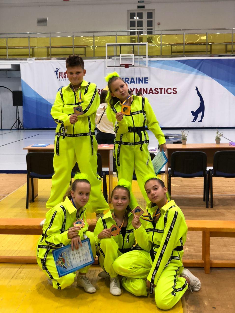 Чемпіонат України зі спортивної аеробіки. Фото
