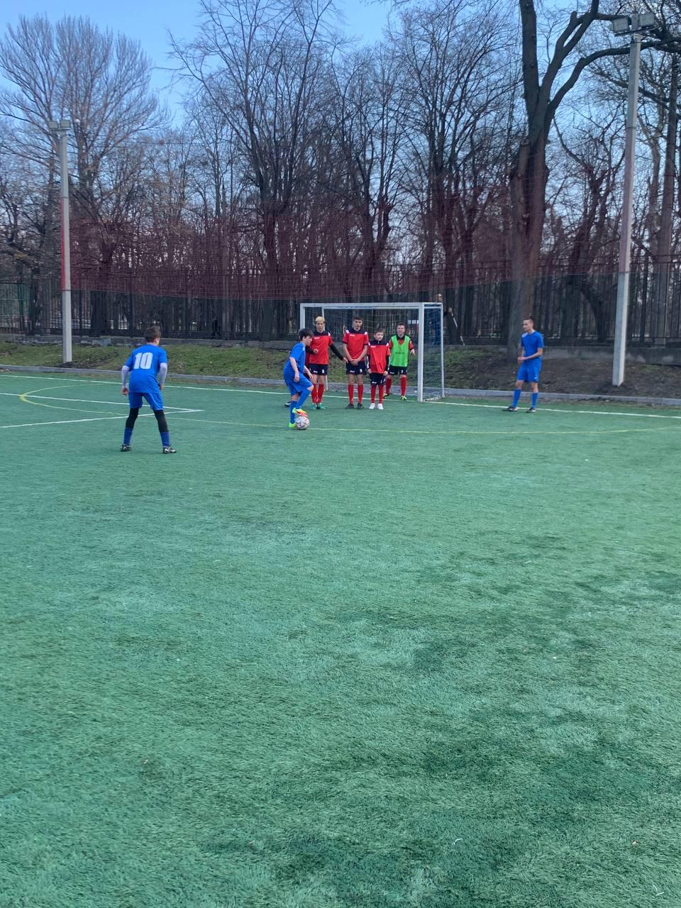 Всеукраїнської спартакіади з футболу «Повір у себе». фото