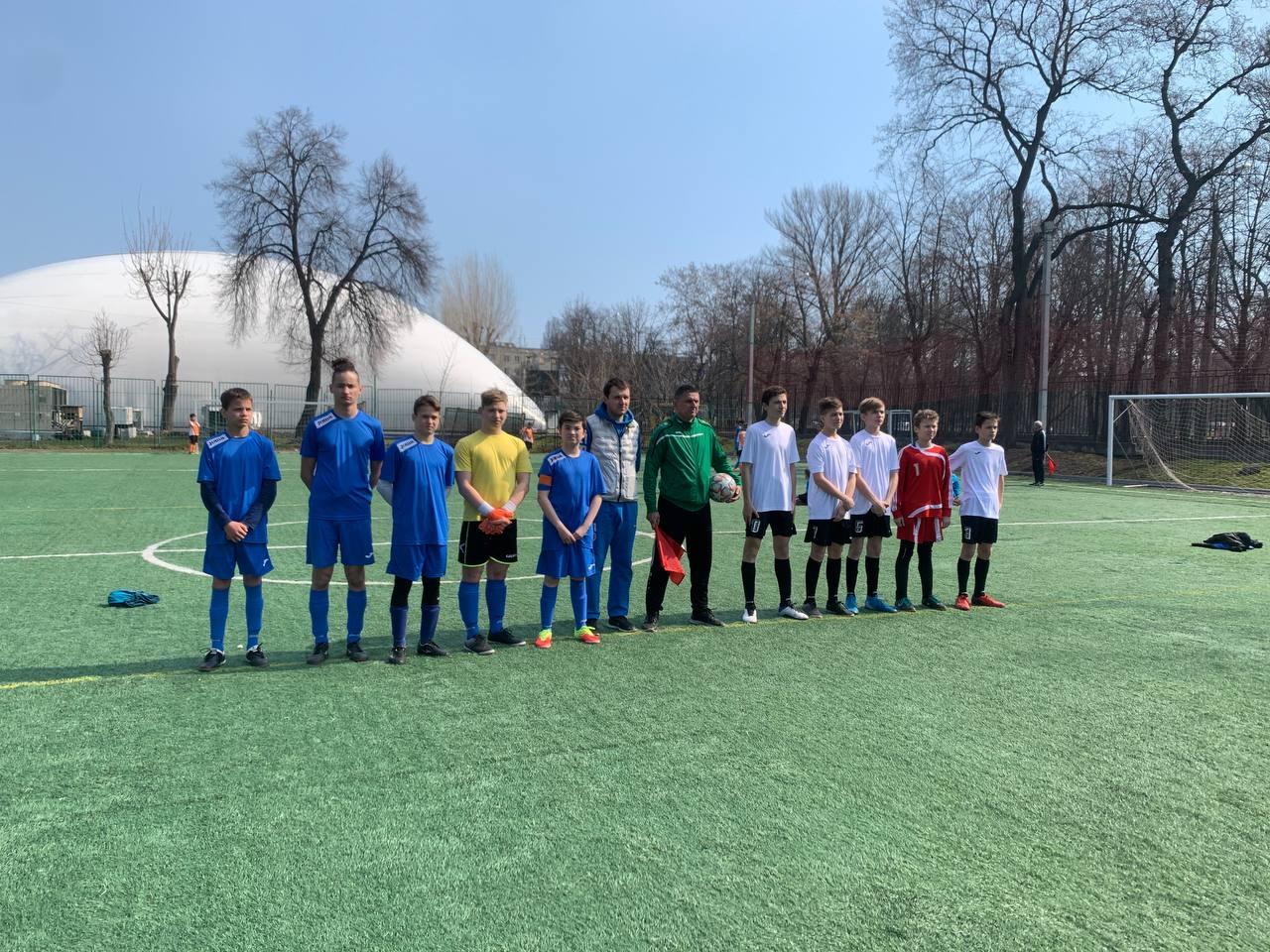Всеукраїнська спартакіада з футболу «Повір у себе». фото