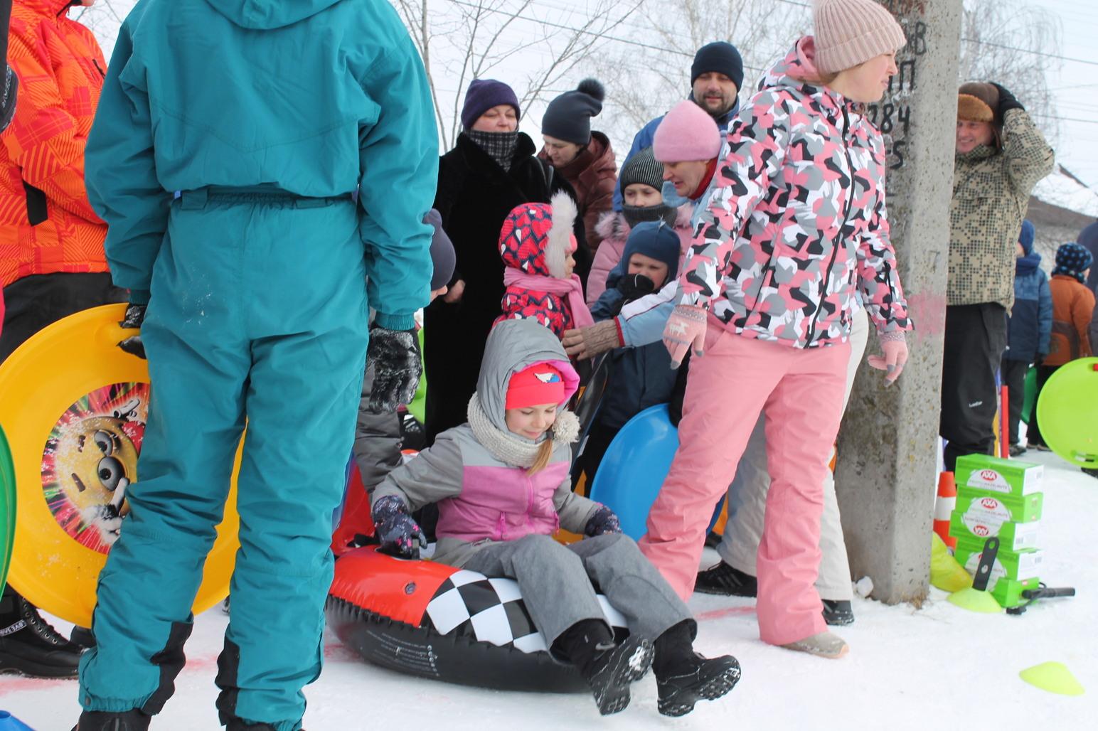 Зимові розваги, Бориспіль. Фото