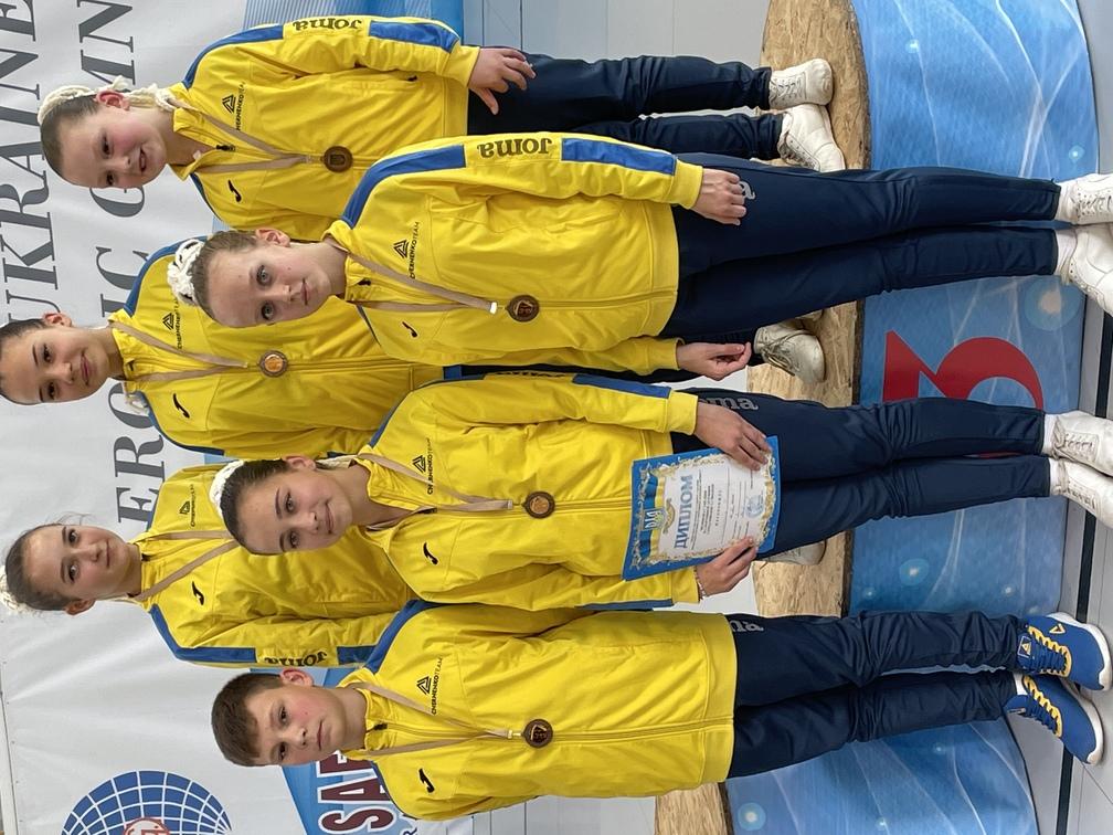 чемпіон України зі спортивної аеробіки, Житомир. фото