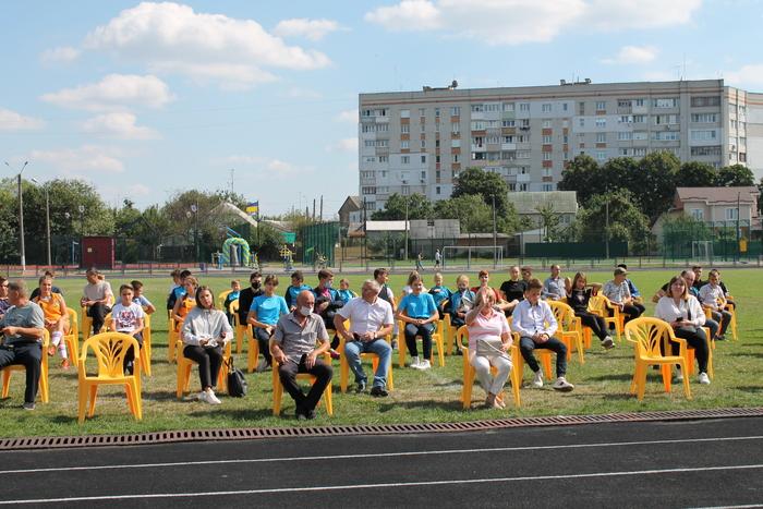 Відкриття мультифункціонального спортивного майданчика, Фастів. Фото