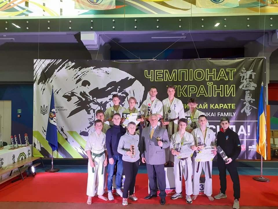 Чемпіонат України з кіокушинкай карате, Київ. фото