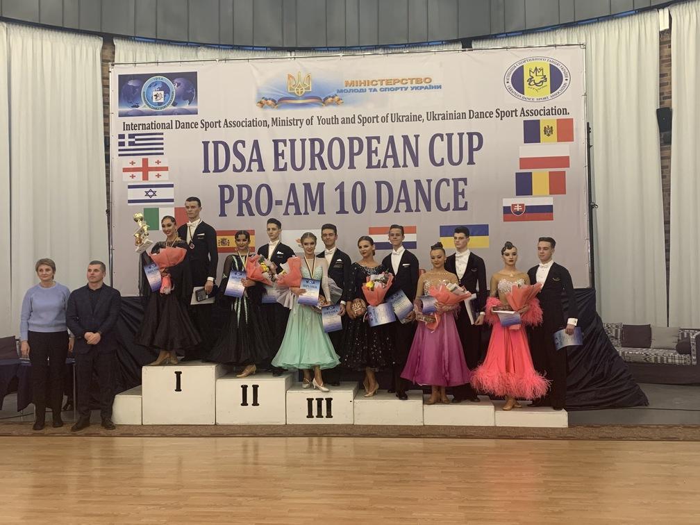 Кубок Європи зі спортивних танців серед професіоналів та аматорів 10 танців. фото