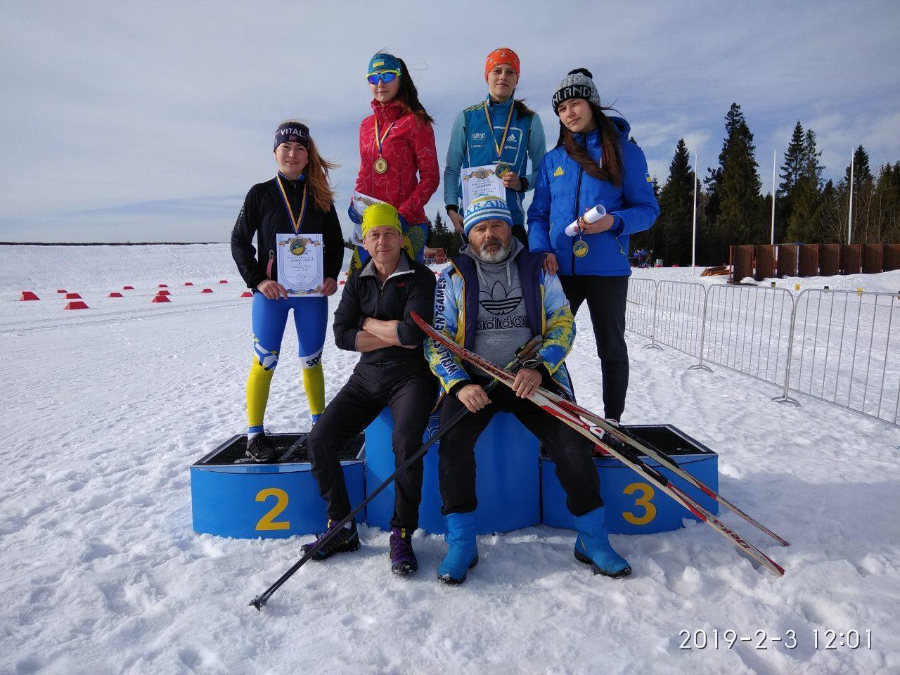 Чемпіонат України з лижних гонок. фото