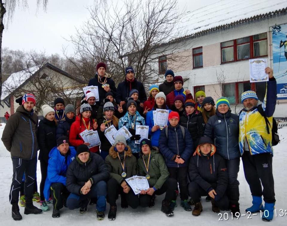 Чемпіонат України з лижних гонок зі спринту. фото