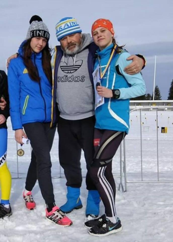 Чемпіонат України з лижних гонок серед дорослих. фото