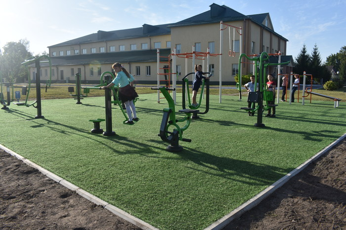 Відкриття майданчика в Карапишах (02.09.2020). Фото