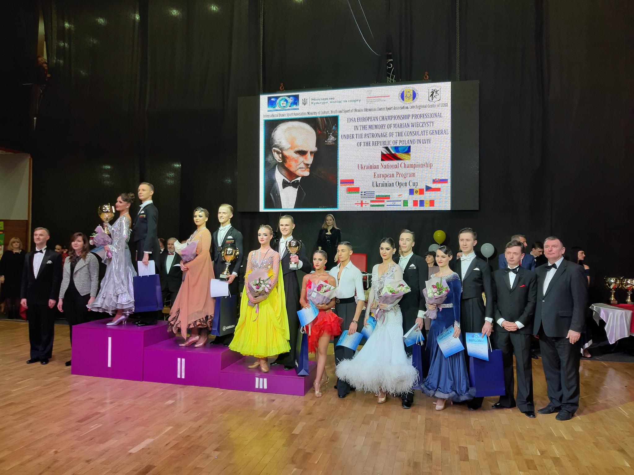 чемпіонат Європи зі спортивних танців, Львів. фото