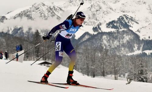 Медаль в жіночій естафеті на чемпіонаті світу з біатлону, Поклюка. Фото