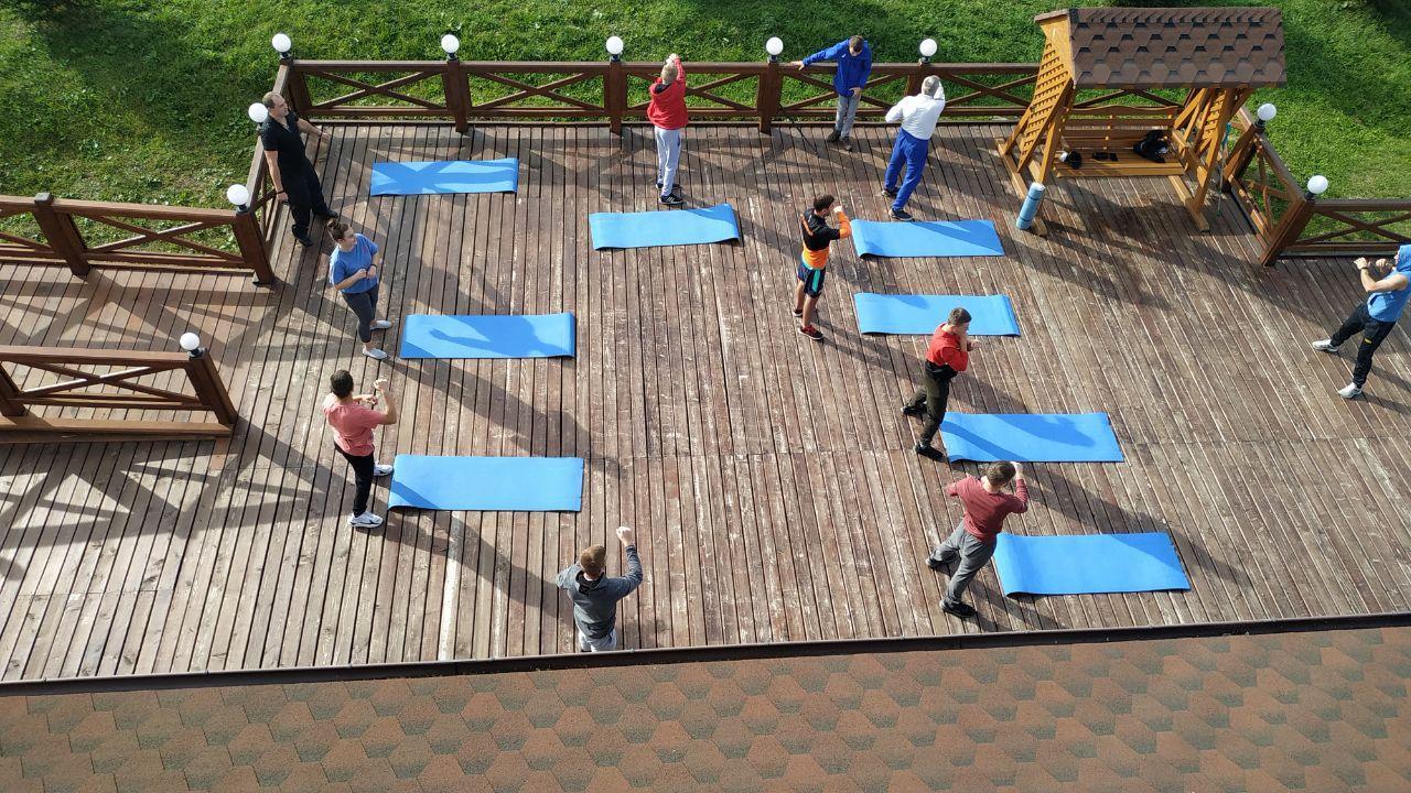 Реабілітаційний збір спортсменів з інвалідністю, Яворів. Фото