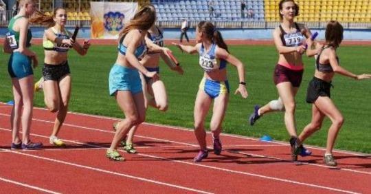 Чемпіонат України з естафетного бігу. фото